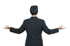 Hintere Ansicht des Geschäftsmannes Lizenzfreies Stockbild