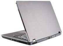Hintere Ansicht des Laptops Lizenzfreies Stockbild