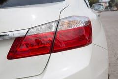 Hintere Ansicht eines Autos Lizenzfreies Stockfoto