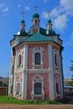 Hintere Fassade von Simeon Stylites u. von x27; s-Kirche in Pereslavl-Zalessky, Russland Stockfotos