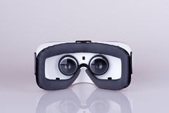 Hintere Innenansicht des Kopfhörers der virtuellen Realität Stockfotografie