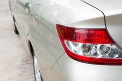 Hintere Leuchte des Autos Stockfotografie
