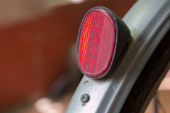 Hintere rote Reflektoren Lizenzfreie Stockbilder