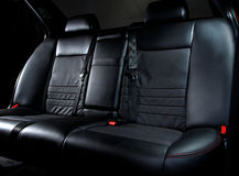 Hinterer Autositz Lizenzfreies Stockbild