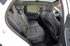 Hinterer Autositz lizenzfreie stockbilder