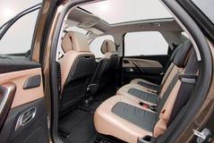 Hinterer Autositz Lizenzfreie Stockfotografie