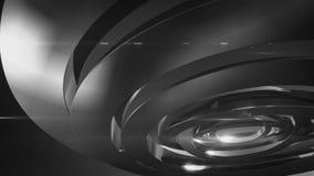 Hinterer des Kreises moderner und weißer Hintergrund vektor abbildung