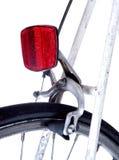 Hinterer Fahrradreflektor Stockbild