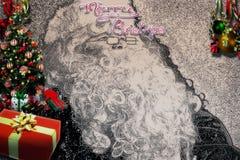 Hinterer Tropfen der frohen Weihnachten Lizenzfreie Stockbilder