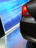 Hinteres Ende eines neuen Fahrzeugs Lizenzfreie Stockbilder