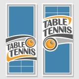 Hintergründe für Text bezüglich des Tischtennis Lizenzfreies Stockbild