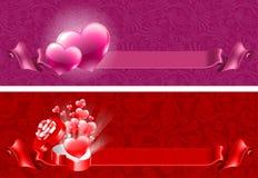 Hintergründe für Valentinsgruß-Tag Stockfotos