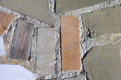 Hintergründe mit Stücken des Granits und des Steins Lizenzfreies Stockbild