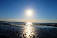 Hintergründe: Sonneleuchte lizenzfreie stockfotografie