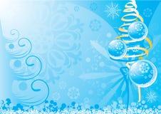 Hintergrund 1 des neuen Jahres vektor abbildung