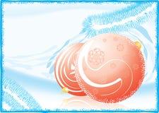 Hintergrund 2 des neuen Jahres lizenzfreie abbildung
