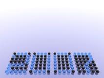 Hintergrund 2007 Stockfotografie