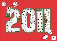 Hintergrund 2011 Lizenzfreie Stockbilder