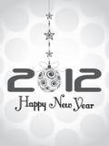 Hintergrund 2012 des glücklichen neuen Jahres Lizenzfreies Stockbild