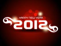 Hintergrund 2012 des glücklichen neuen Jahres Lizenzfreie Stockfotografie
