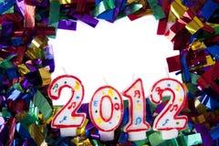 Hintergrund 2012 mit copyspace Lizenzfreie Stockfotos