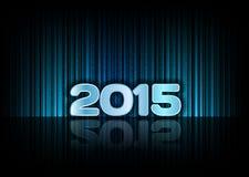 Hintergrund 2015 Lizenzfreie Stockfotografie