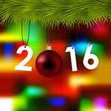 Hintergrund 2016 Stockfotos