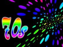 Hintergrund 70s stock abbildung