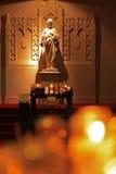 Hintergrund-Abbildung der Kirche Stockbild