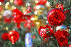 Hintergrund-Abbildung von Weihnachten Stockfotografie