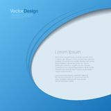 Hintergrund-abstrakter Vektor. Geschäftsdesign templa Stockfoto