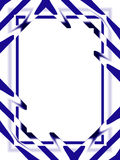 Hintergrund: Abstraktes Blau Lizenzfreie Stockfotografie