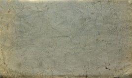 Hintergrund als alte Papierbeschaffenheit mit Alterskennzeichen und blauem Schatten Stockfotos