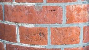 Hintergrund: alte Backsteinmauernahaufnahme Stockfotografie