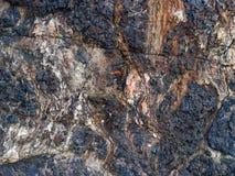 Hintergrund - alter Stein Stockfoto