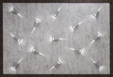 Hintergrund, Anzeige und Beschaffenheitskonzept - Betonmauer wi lizenzfreies stockfoto