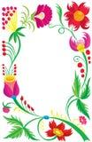 Hintergrund. Auslegung eines schönen Blumenmusters. Lizenzfreie Stockbilder
