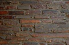 Hintergrund-Backsteinmauer Lizenzfreies Stockfoto