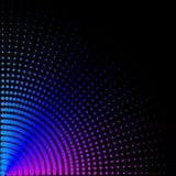 Hintergrund, Beschaffenheit, abstrakt Farbige Kreise, Bälle auf einem schwarzen Hintergrund wird isoliert lizenzfreie abbildung