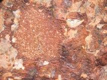 Hintergrund/Beschaffenheit: rostiges Metall Stockfoto