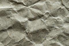Hintergrund, Beschaffenheit, Schmutz, zerknittertes Packpapier 4 stockfotografie