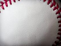 Baseballleder Lizenzfreies Stockfoto
