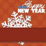 Hintergrund bestanden aus Winterschneeflocken Stockbilder