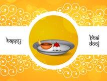 Hintergrund Bhai Dooj Lizenzfreies Stockfoto