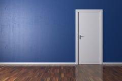 Hintergrund-Blau-Wand Lizenzfreie Stockfotos