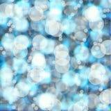 Hintergrund bokeh blauer Himmel der Sommerunschärfe stockbilder