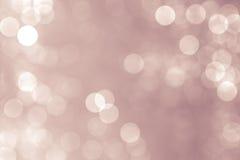 Hintergrund bokeh Kreise für Weihnachtshintergrund Stockbilder