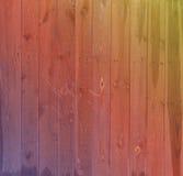 Hintergrund bunt der alte Bretterzaun Stockfoto