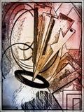 Hintergrund, bunt, Kunst, Dekoration Lizenzfreies Stockfoto