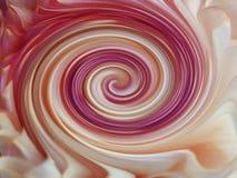 Hintergrund, bunte Linien sind verdrehte Spirale hell farbige Linien purpurrot, weiß, gelb, rot; Veilchen, Rosa Lizenzfreies Stockfoto